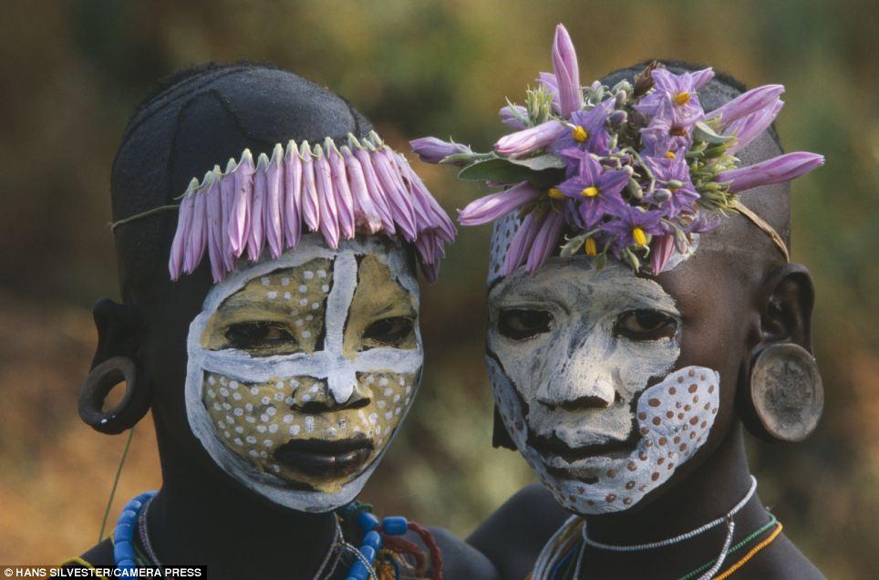 Фото дикие племена в африке 15 фотография